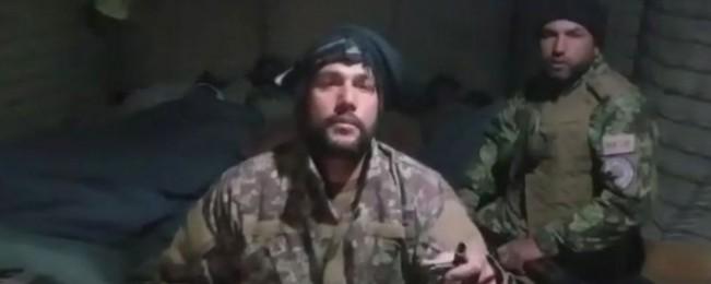 سربازان گیرمانده ارتش در کوته اشرو میدان وردک؛ وزارت دفاع: سلاح و مهمات و مواد غذایی به آنان رسیده است