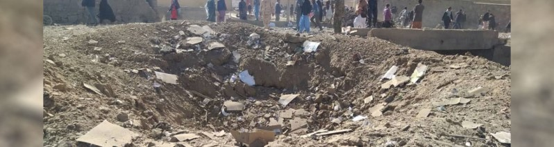 بیش از ۱۰۰ کشته و زخمی در انفجار موتر بمب در غور؛ تیم صحی از هرات برای درمان زخمیان این رویداد اعزام شد