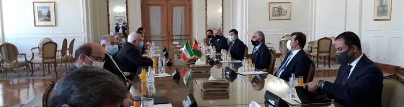 سفر عبدالله به ایران؛ رییس شورای مصالحه با جواد ظریف دیدار کرد
