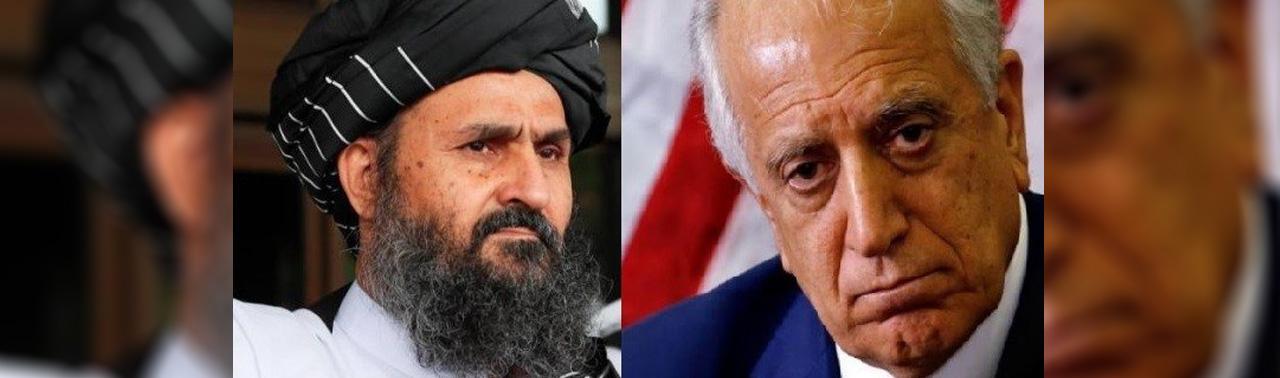 افزایش خشونت ها و تکمیل خروج طالبان از فهرست سیاه؛ محور گفتگوی خلیلزاد با ملا برادر