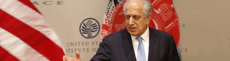 خلیلزاد: آمریکا به افغانستان و طالبان فشار میآورد تا خشونت ها را کاهش داده و هر چه سریع راه صلح را دریابند