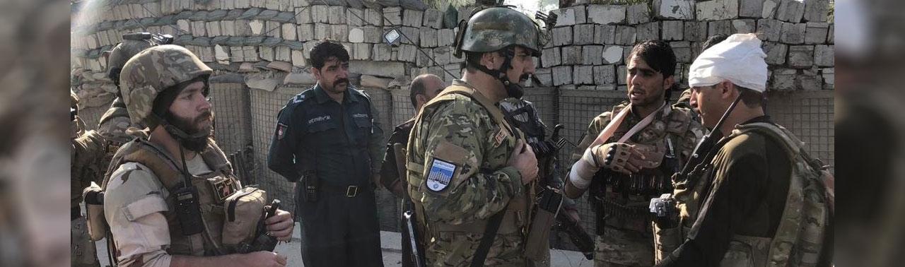 حمله مهاجمین مسلح بر قطعه خاص پولیس در خوست؛ پس از نزدیک به ۸ ساعت یک مهاجم زنده است