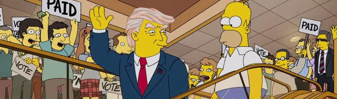 سیمپسون ها و انتخابات آمریکا؛ این بار هم پیش بینی آنها به وقوع پیوست