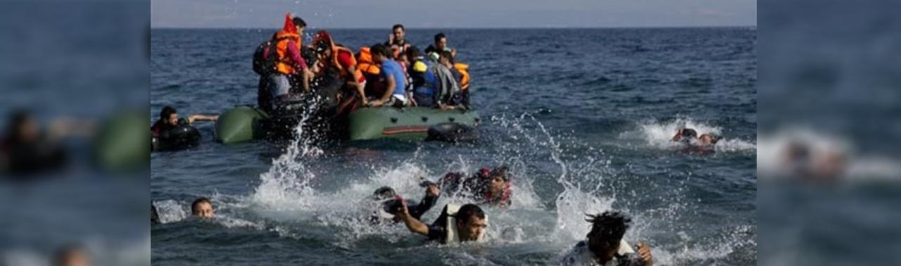 مهاجر افغان که پسر ۶ ساله اش در دریا غرق شده محاکمه می شود