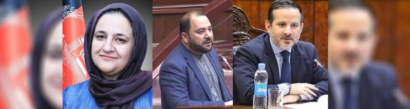 سومین دور رایدهی مجلس به کابینه؛ نامزد وزیران معارف و انکشاف دهات و نامزد رییس بانک مرکزی رد شدند