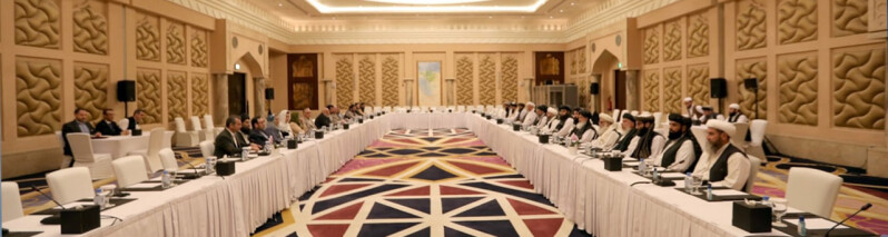 مذاکرات صلح افغانستان؛ از تاکید غنی بر کارشکنی طالبان تا گفتگوی وزیران خارجه امریکا و پاکستان