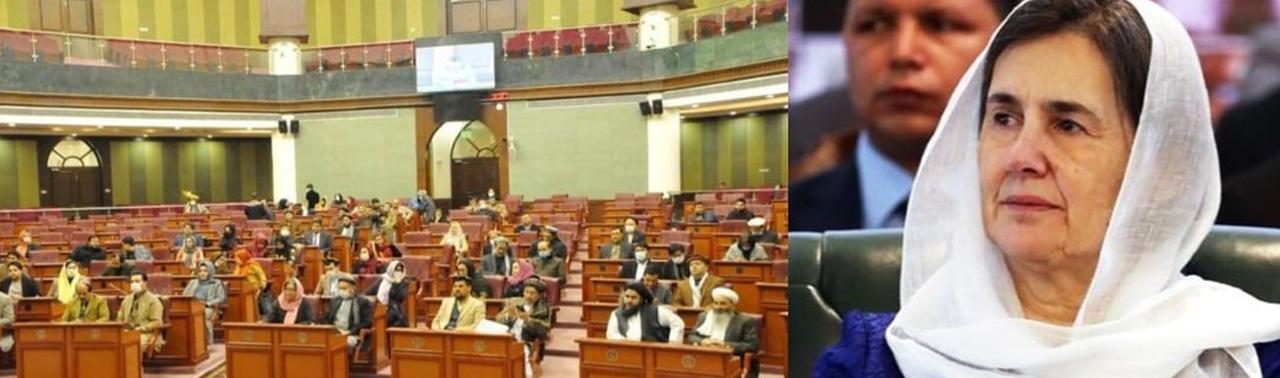 انتقاد تند مجلس از رولا غنی؛ افراد غیر مسوول و مجهول المسوولیت حق توهین به اراده مردم ندارد