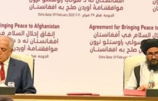 زنگ خطر برای توافقنامه صلح آمریکا و طالبان؛ دولت بایدن این توافق نامه را بررسی می کند