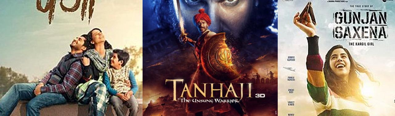 ۱۰ فیلم برتر بالیوود در سال ۲۰۲۰ که بسیار پرطرفدار بوده اند