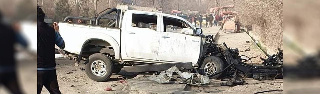 انفجارهای یک شنبه کابل دو زخمی برجای گذاشت