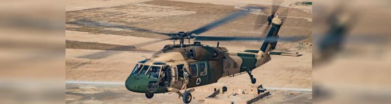 وزارت دفاع ادعای طالبان مبنی بر سقوط چرخ بال ارتش در هلمند را رد کرد