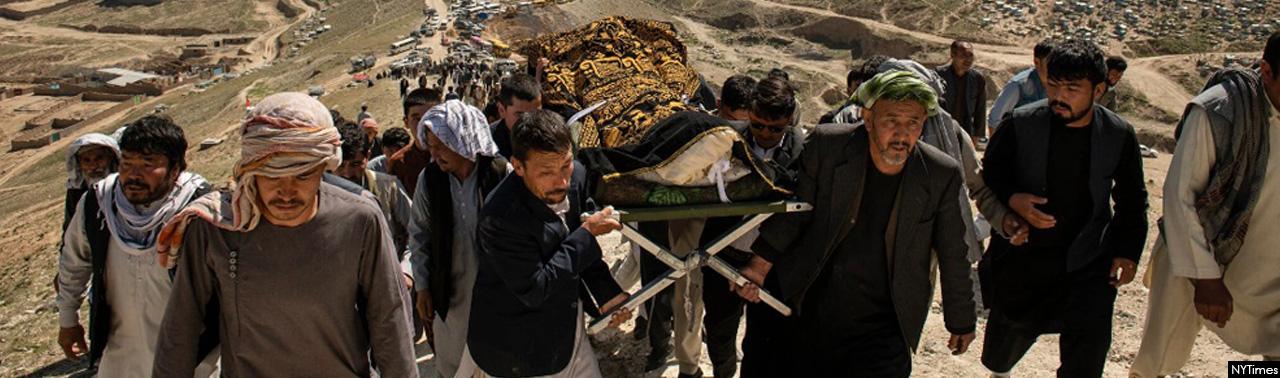 «چرا ما سزاوار مرگیم؟» هزاره های کابل دختران شان را به خاک می سپارند!