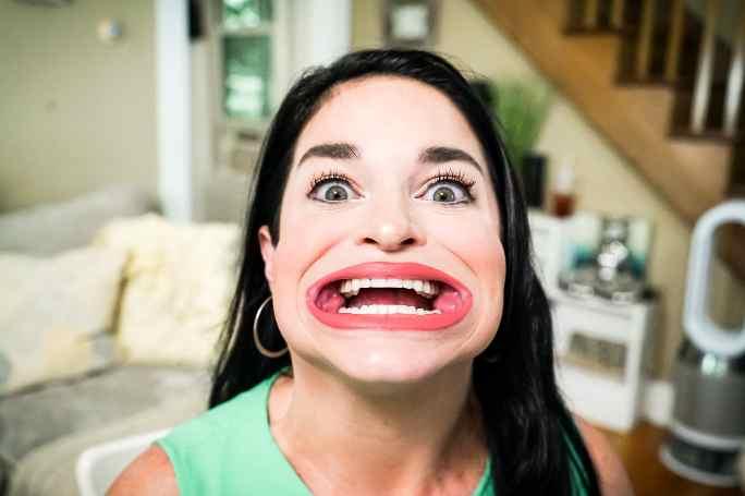 رکورد بزرگترین دهان دنیا