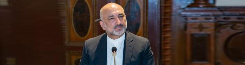 نشست اتمر با نمایندگان کشورهای همسایه؛ آخرین تحولات سیاسی و امنیتی أفغانستان بررسی شد