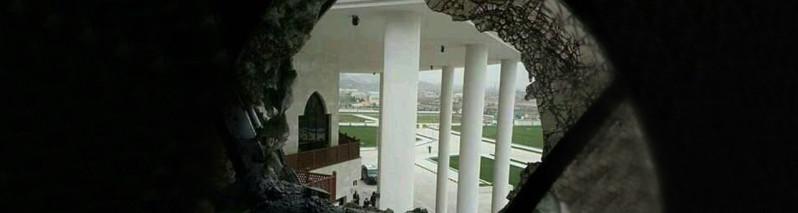 برخورد راکت به ساختمان شورای ملی افغانستان