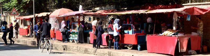 غذاهای کنار جاده؛ فستفود افغانی