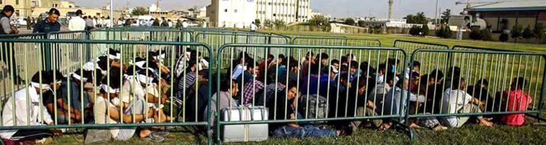 سلاخی انسانیت؛ نمایش مهاجرین افغان در قفسههای آهنین در ایران