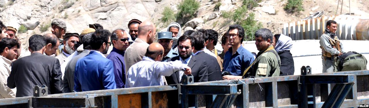 بند شاه و عروس؛ کلید آب شهروندان کابلی و زراعت باشندگان شمالی