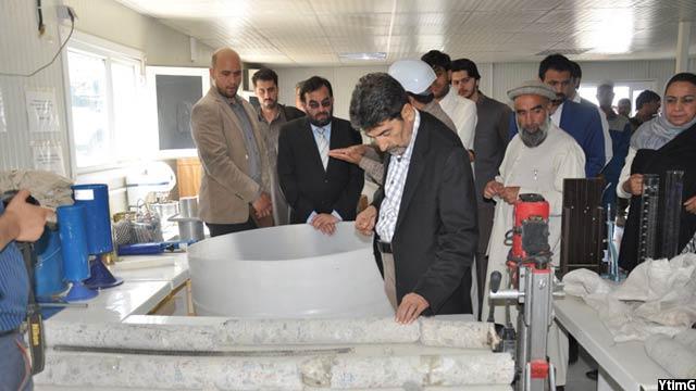بازدید وزیر انرژی و آب افغانستان از بند شاه و عروس