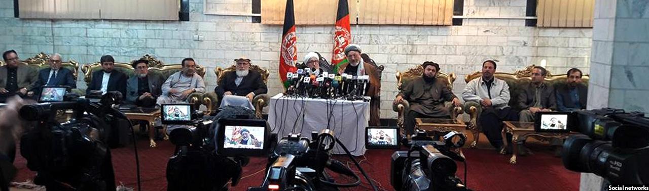 احزاب سیاسی افغانستان خواهان حل اختلاف رهبران حکومت شدند