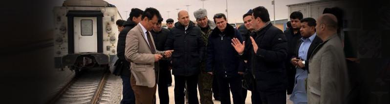 شروع کار خط آهن لاجورد تا یک هفتهی دیگر در افغانستان