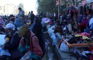 بازار گرم کهنهفروشی در کابل؛ لیلامیفروشان تا 20 هزار افغانی بوت میفروشند