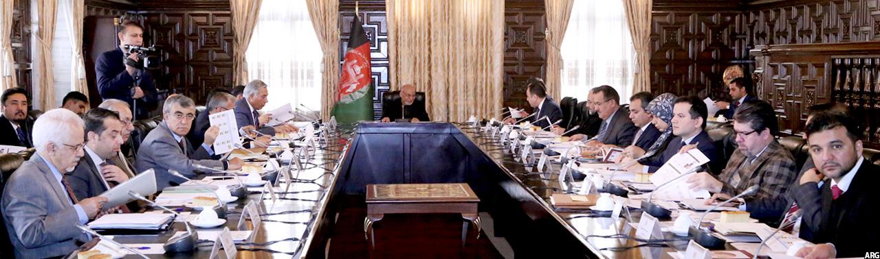 شورای عالی اقتصادی افغانستان؛ ساختار کاری، برگزاری 16 جلسه و تایید 50 مصوبه