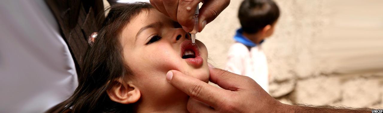 افرایش پولیو در افغانستان؛ کمپاین واکسین فلج اطفال در ۲۰ ولایت کشور آغاز شد