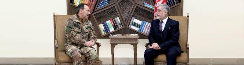 در دیدار با فرماندهان ناتو؛ افغانستان بار دیگر خواستار نابودی لانههای تروریستان در پاکستان شد
