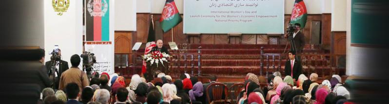 در میان آتش جنگ؛ تجلیل از روز زن و تاکید بر تقویت وحدت ملی افغانستان