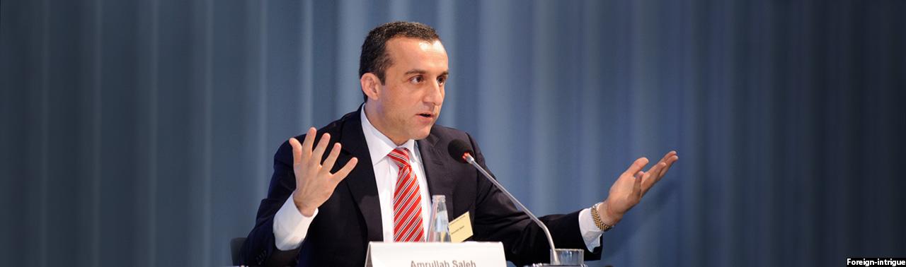 امرالله صالح استعفا کرد