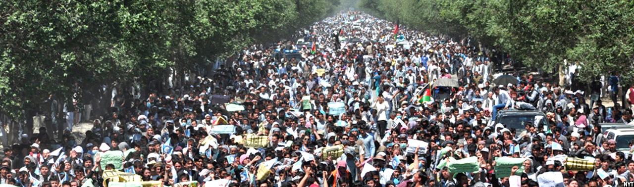 آزادی، خون، عدالت؛ ۳ داعیه بزرگ ۶ دهه تظاهرات در افغانستان