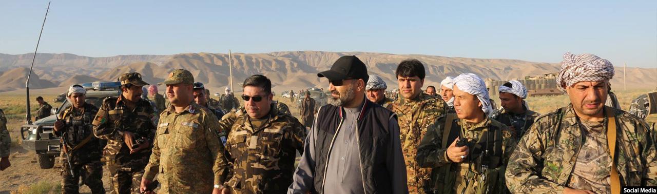 در بلخ؛ پایان عملیات نظامی در شهرستان چمتال