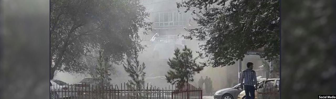 5 کشته و 8 زخمی؛ حمله طالبان بر نمایندگی کابل بانک در آستانه عید قربان