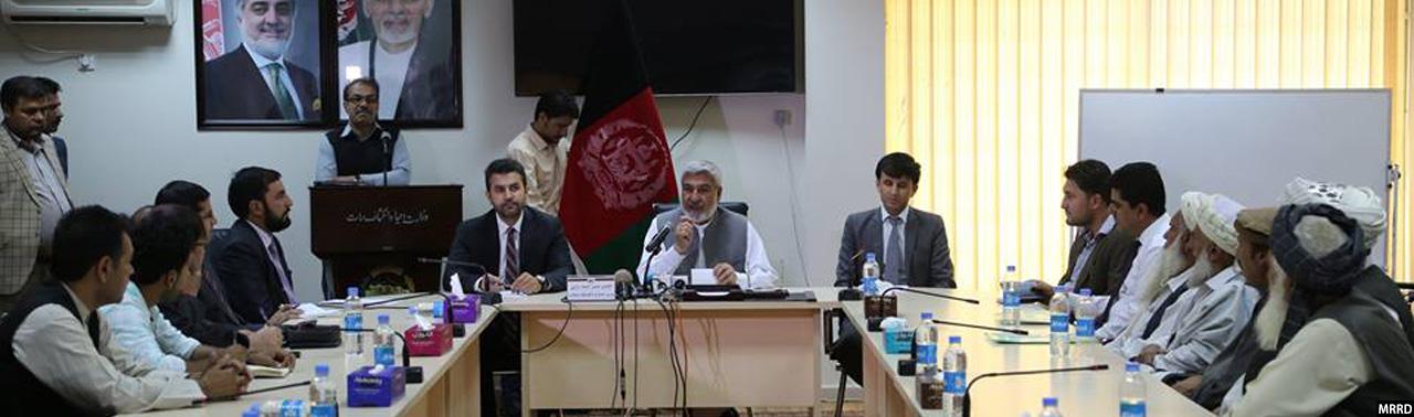 در ۱۷ ولایت؛ قرار داد ۱۳۰ پروژه توسعهای به ارزش ۳۷۱ میلیون افغانی به امضا رسید