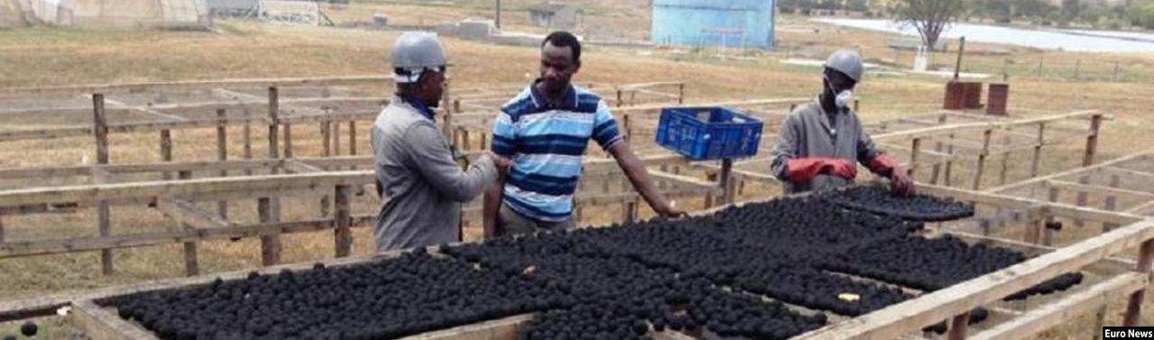 در رقابت با زغال؛ یک شرکت کینیایی مواد سوخت تازهای از مدفوع انسان ساخته است