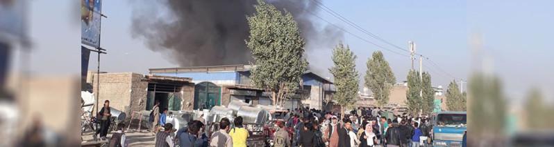 آتش سوزی در غرب کابل؛ انتقاد از دیر رسیدن ماموران آتشنشانی و مشکلات گسترده شهری