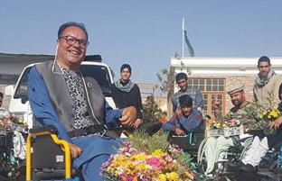 معلول ماندگار افغانستان؛ موسس بنیاد پیرهرات و آغازگر تحول بنیادین زندگی حدود 3 درصد از جمعیت افغانستان