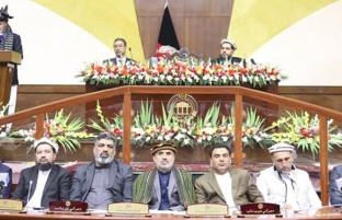 غنی در افتتاحیه هشتمین سال کاری پارلمان؛ از تاکید بر برگزاری به موقع انتخابات تا رسیدن به خودکفایی افغانستان