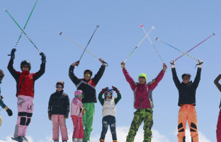 شهرستان پنجاب میزبان نخستین تور اسکی بازان بامیانی