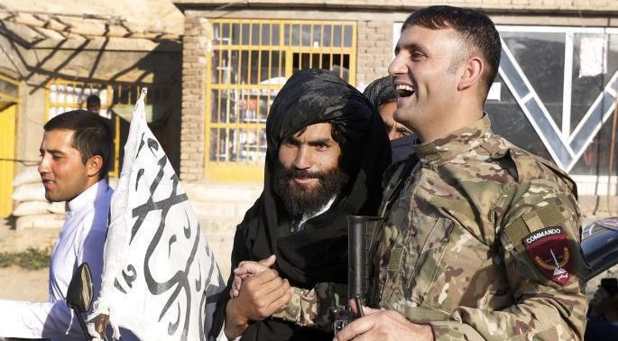 Taliban and commando