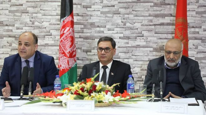 afghan ministers