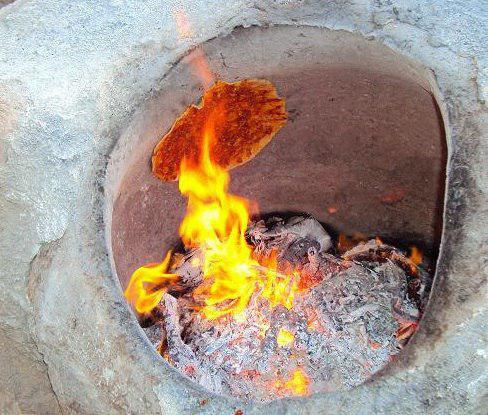 woman burned