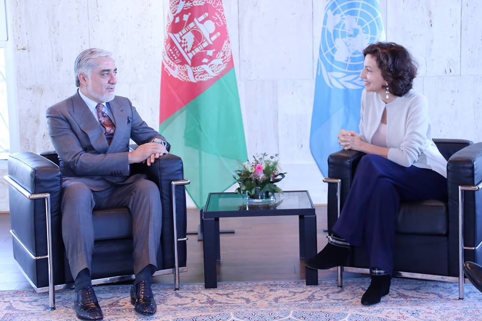 abdullah and unesco offical