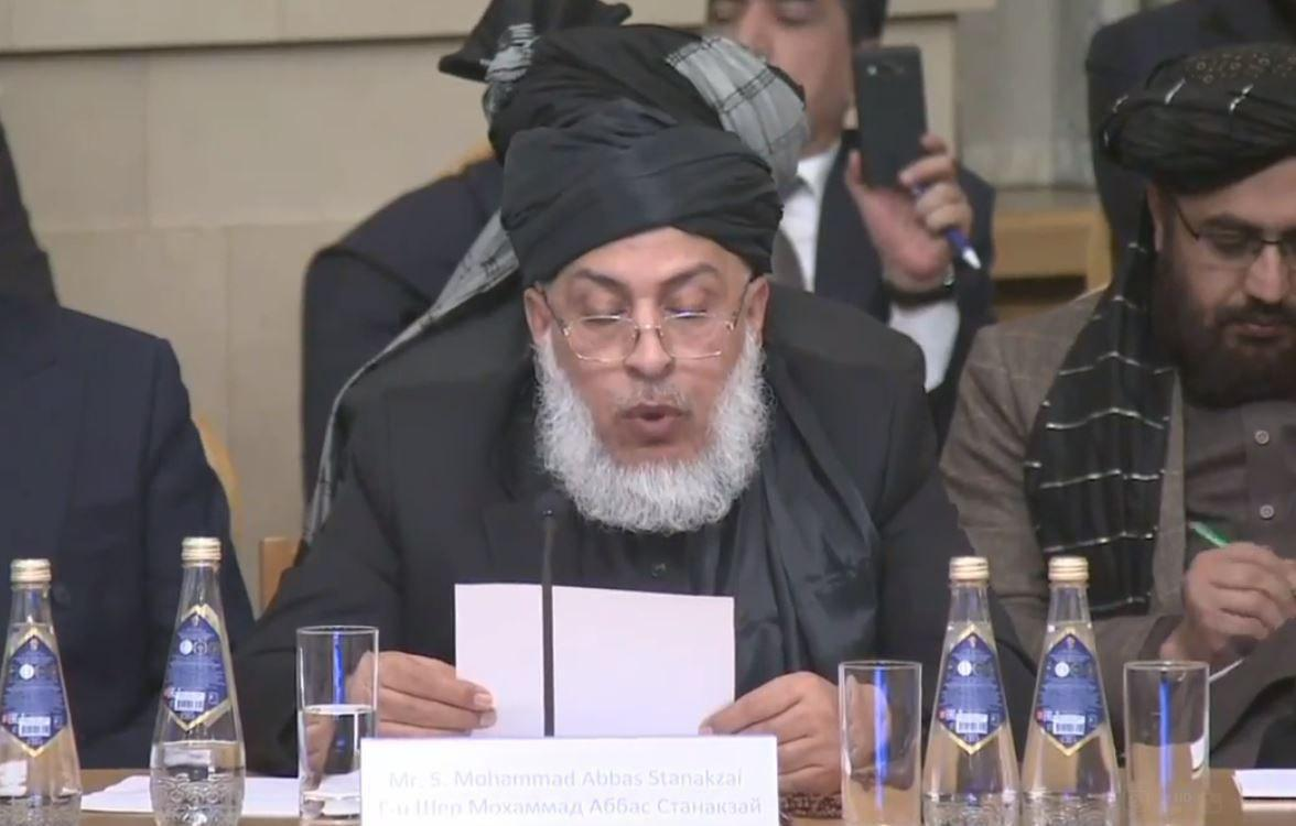 abbas istanikzai Intra afghan talks in moscow