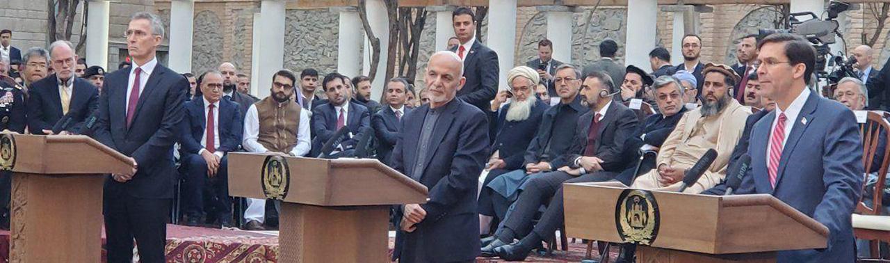 از خروج نیروهای خارجی تا تعهدات حکومت افغانستان؛ بیانیه ی مشترک کابل با ناتو و آمریکا چه می گوید؟