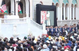 یک روزِ پُرچالش در کابل؛ دو رییسجمهور در یک کشور سوگند یاد کردند