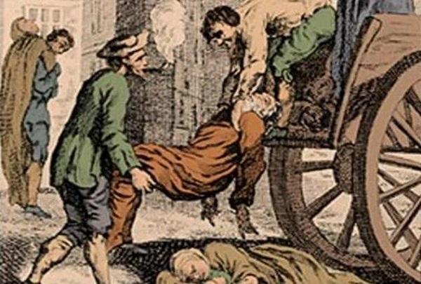 دومین پاندمی طاعون سبب شد که رهبران تمام اماکن عمومی را تعطیل کنند.