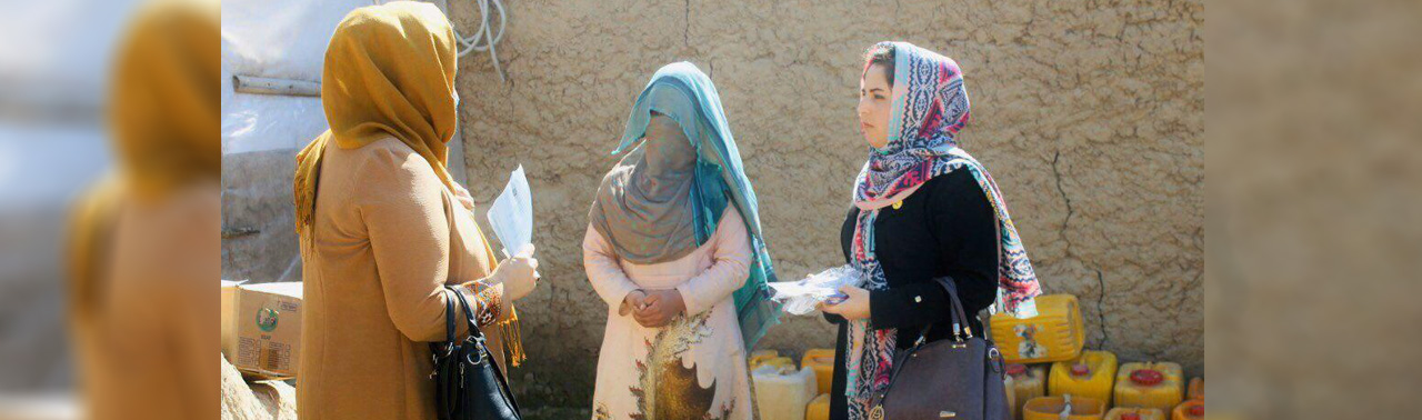 نیکوکاری در زمانه کرونایی (۷)؛ آمنه مخلص زاده، کمک به ۴۰۰ خانواده در جریان بحران کوید-۱۹