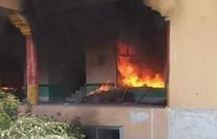 خانه فرد متهم به قتل هفت عضو یک خانواده در ولایت خوست به آتش کشیده شد